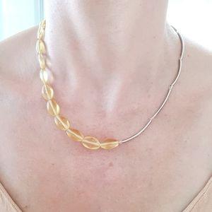 I Shine Like The Sun half beaded necklace